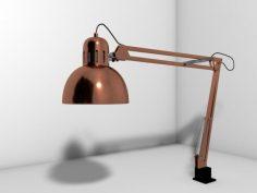 مدل سه بعدی چراغ مطالعه
