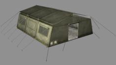 مدل سه بعدی چادر ارتشی