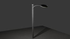 مدل سه بعدی تیر چراغ برق