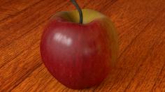 مدل  یه بعدی سیب