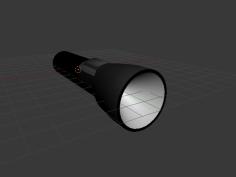 مدل سه بعدی چراغ قوه
