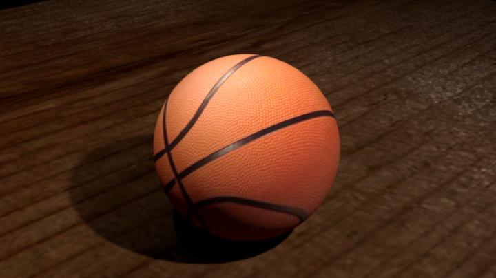 مدل سه بعدی توپ بسکتبال