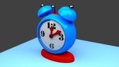 مدل سه بعدی ساعت