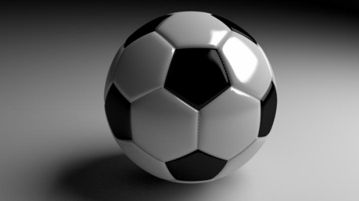 مدل سه بعدی توپ
