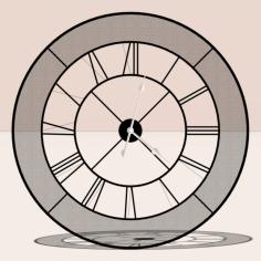 مدل سه بعدی ساعت گسترده
