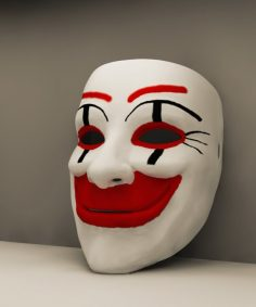 مدل سه بعدی ماسک