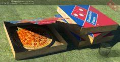 مدل سه بعدی پیتزا